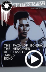 Art Time Lapse: The Pain of Bond Age - The Classic Henchmen of the James Bond Era