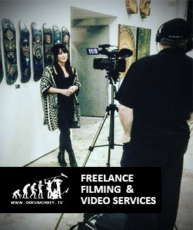 Freelance Videography, performance  and event documetnation, filming