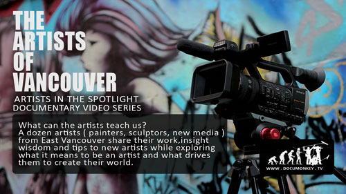 What can the artists teach us?  A dozen artists from from the East Side Culture Crawl, the Vancouver Mural Fest and others around Vancouver share their work, as well as insight and wisdom and tips for other aspiring artists, what it means to be an artist and what drives them.